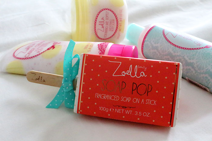 Zoella, Zoe sugg, Zoella Beauty, tutti fruity, Foam Sweet Foam, Soap Pop, Scrubbing me softly, candy cream,