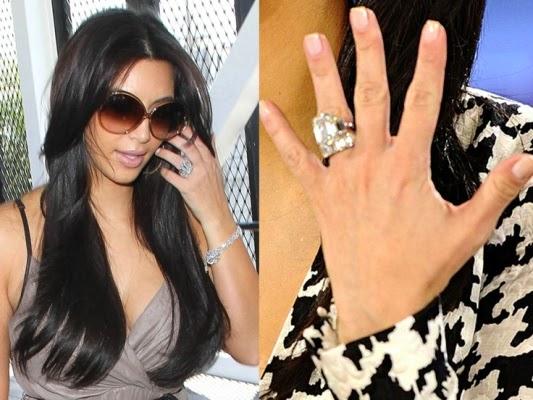 Kim Kardashian Wedding Ring Price 54 Nice Kim Kardashian u Million