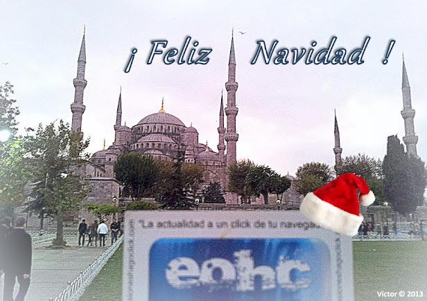 Feliz Navidad EOHC - La Mezquita Azul o Mezquita del Sultán Ahmed de Estambul (Turquía)