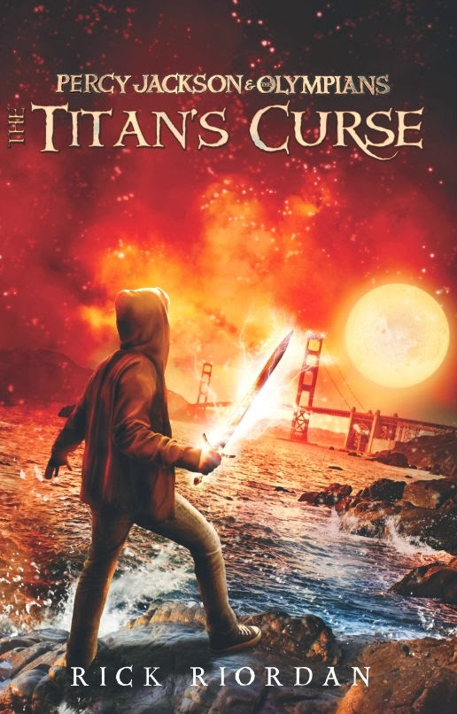 [roem:pi boekoe]: Review: Percy Jackson #3: The Titan's Curse