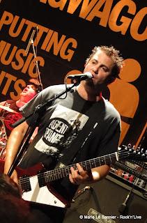 Chris Rest from Lagwagon in Paris June 2012 Rock'nLive