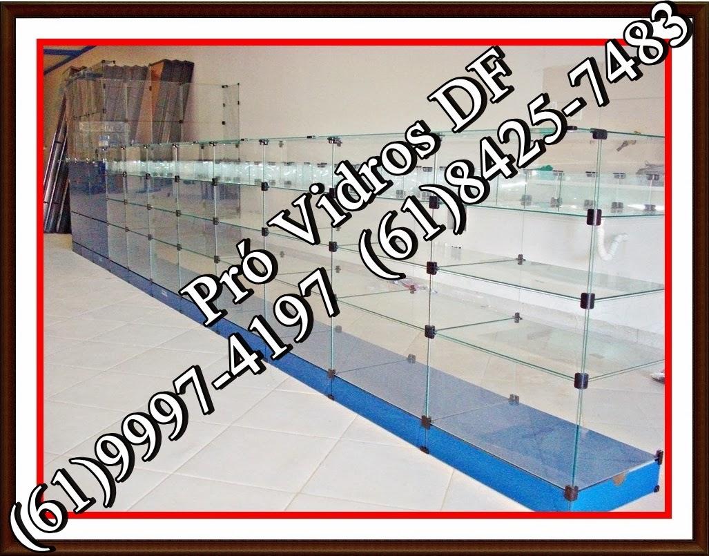 #C00C0B Brasilia no DF.: :) Balcão de Vidro Modulado Temperado para loja de  202 Janelas De Vidro No Df