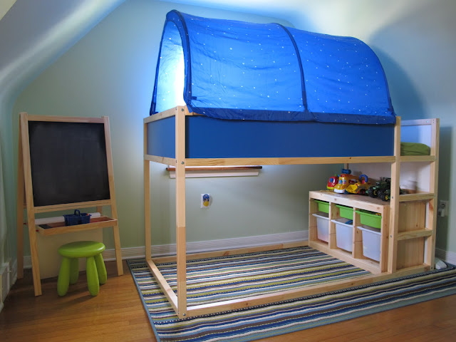 Porter's New Bed