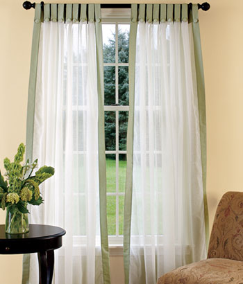 Tab Top Curtains Designs Ideas 2012 Pictures | Modern Furniture Deocor