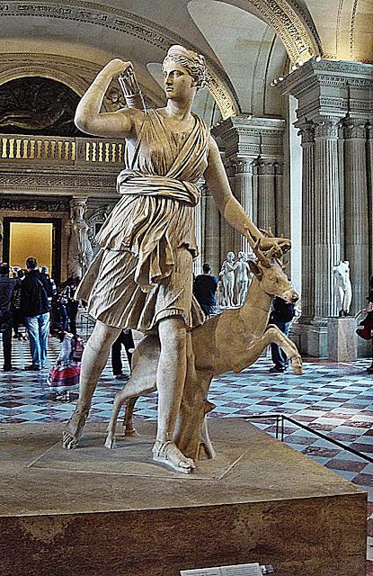 Paryż, Luwr, wycieczka, Rzeźba starożytna