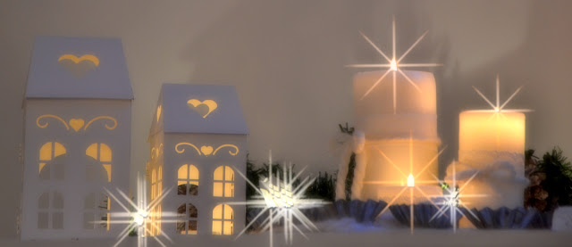 Christmas candles http://shabbychiclife-silvia.blogspot.it