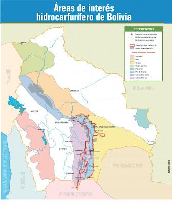 Departamentos productores de hidrocarburos