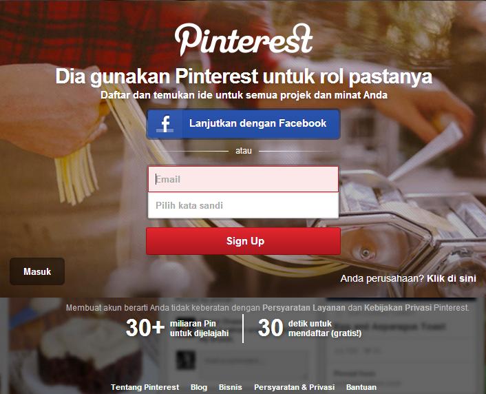 Meningkatkan Jumlah Penjung Blog Dengan Pinterest 2