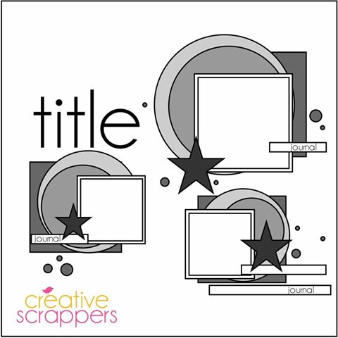 Creative Scrappers April Challenge
