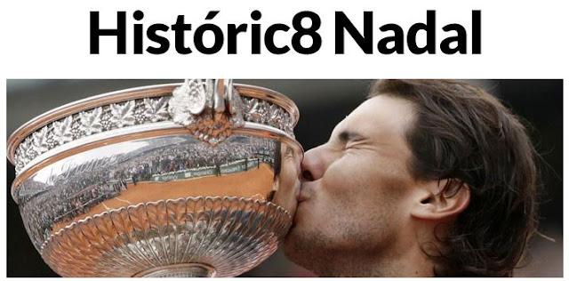 Portada digital de Marca tras la 8ª victoria de Nadal en Roland Garros