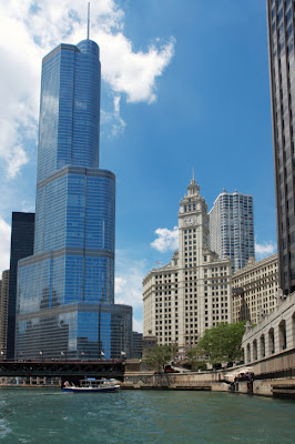 Chicago's Trump Tower Exterior Skin