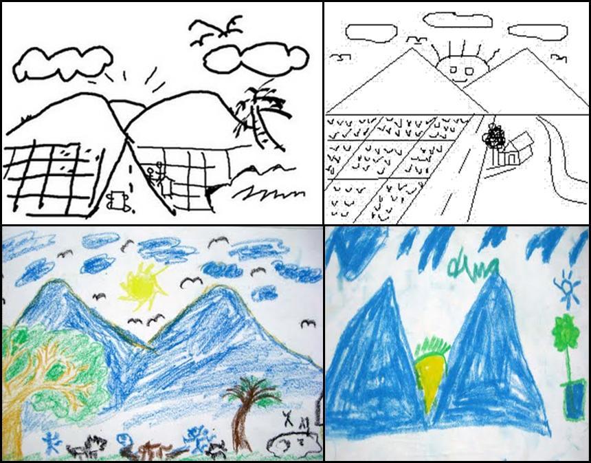 Seni menggambar anak Sd
