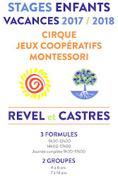 Stages de Cirque 2017 - 2018: 3 formules possibles