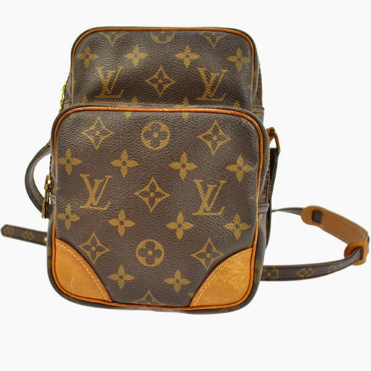 Original Louis Vuitton Monogram Canvas Sac Randonnee GM Sling Bag BHW For Sale