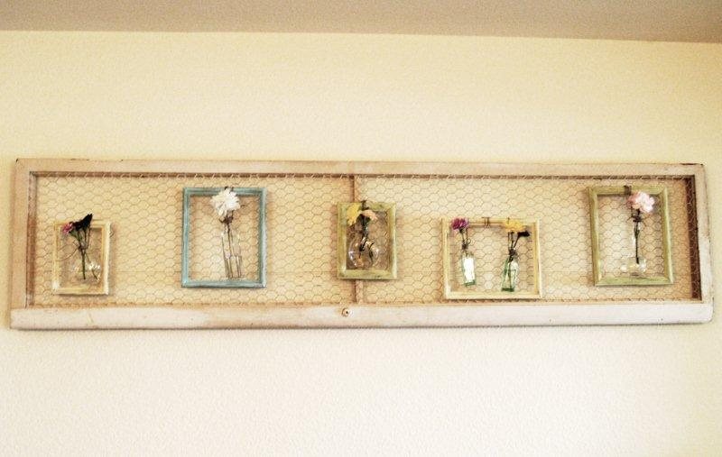 Little Katie on the Prairie: Chicken Wire Frames are all the RAGE!