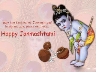 Happy janmashtami 2015 quote of krishna wallpapers
