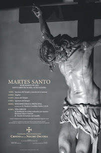 Cartel Martes Santo 2.021