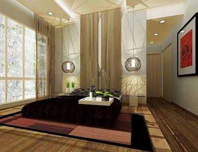 Desain kamar tidur minimalis nuansa klasik