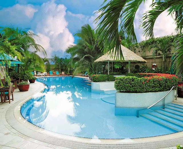 bể bơi chung cư the garden hill