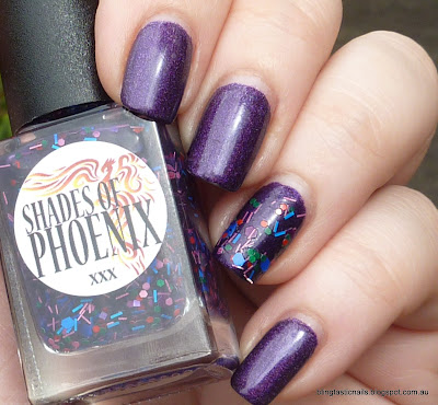 Color Club Wild at Heart with Shades of Phoenix Dionysus