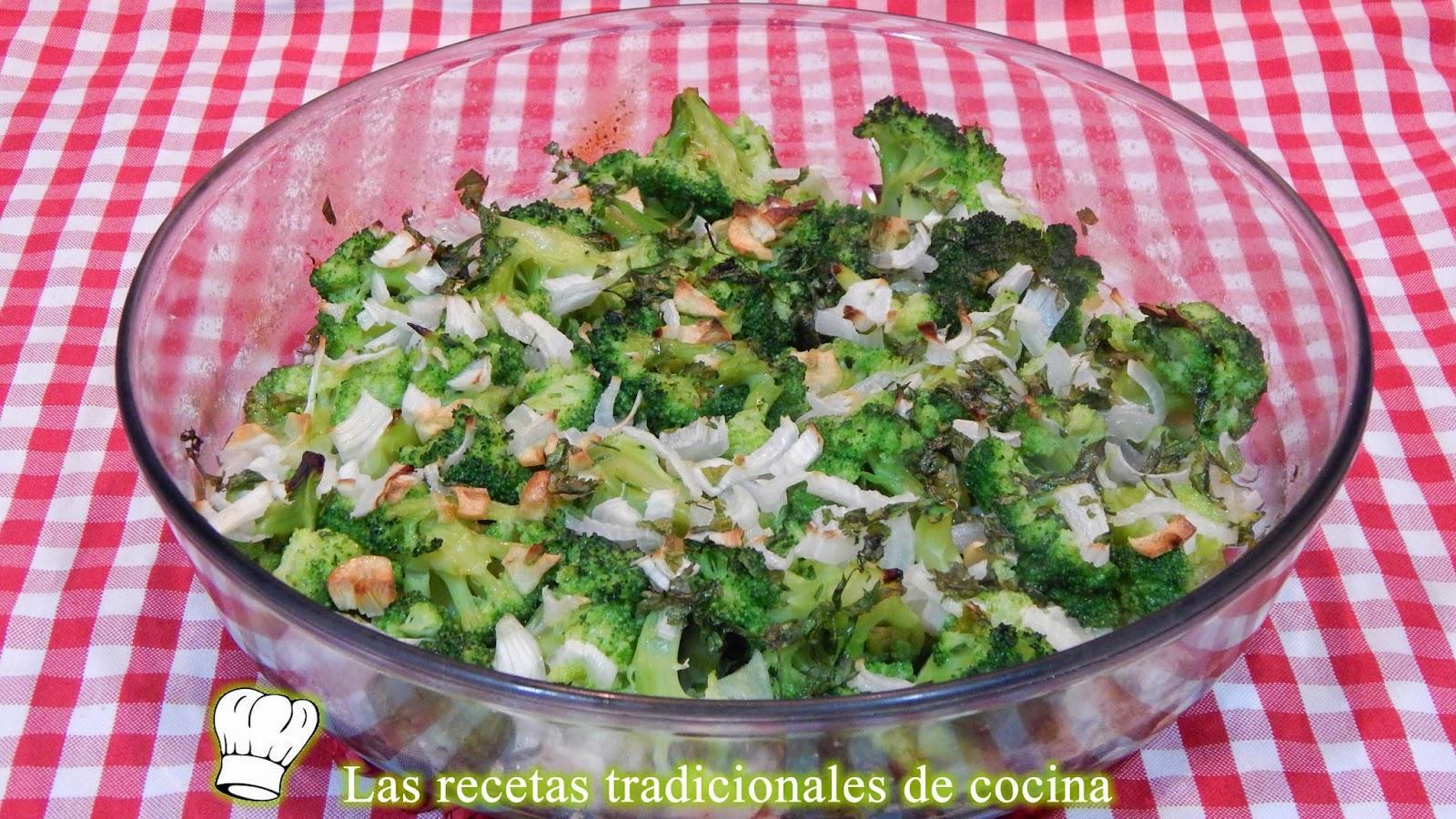 Brócoli a la provenzal