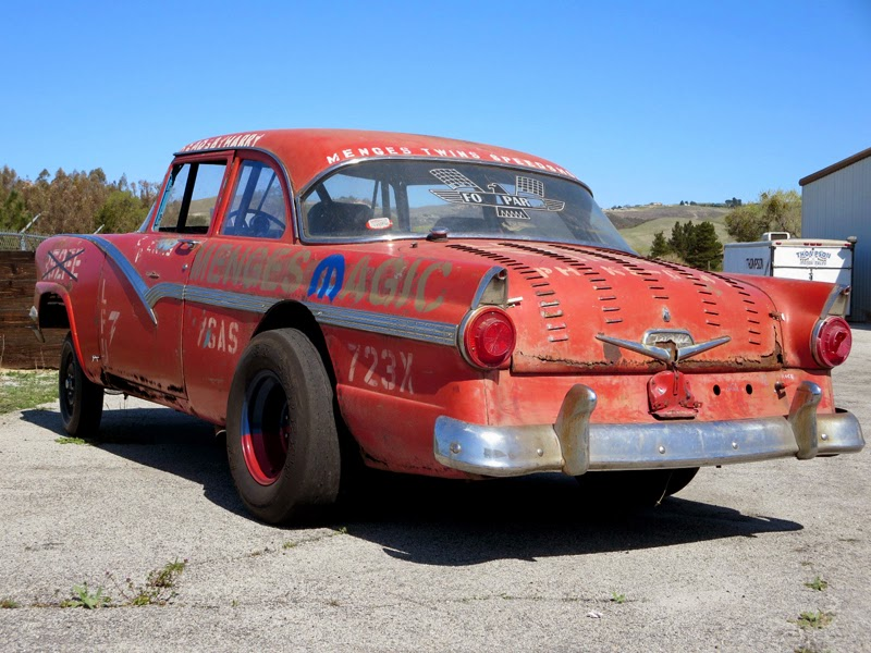 247 AUTOHOLIC: 1956 Ford Fairlane Gasser ( Menges Twins )