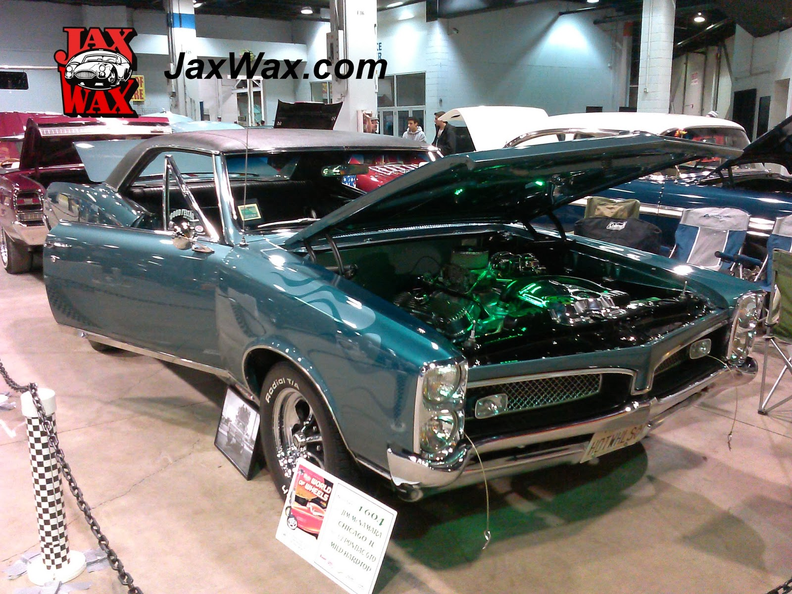 1967 Pontiac GTO Jax Wax Customer Chicago World of Wheels