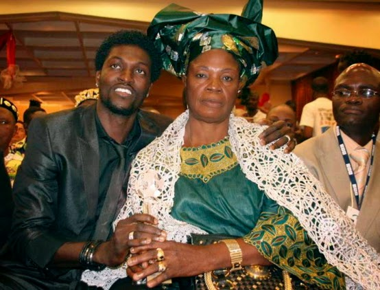 emmanuel adebayor mother witch