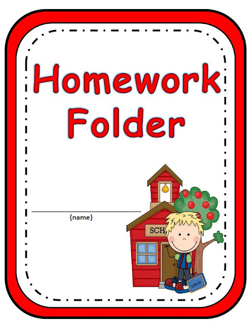 Homework Book Cover Template ~ January fern smith s classroom ideas