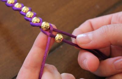 DIY упаковка браслет