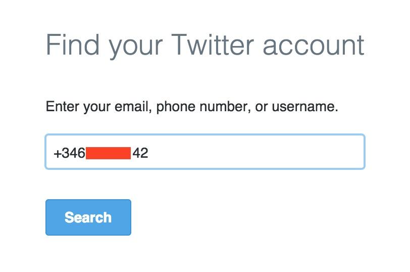localizar movil por twitter