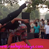 Raahgiri day cp amazing new dance form as u have ever seen on drum beats 25 october 2015 delhi connaught place