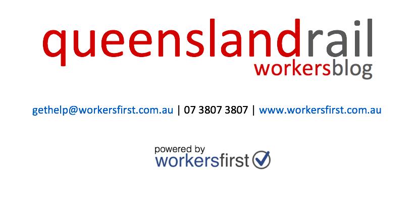 Queensland Rail Workers Blog