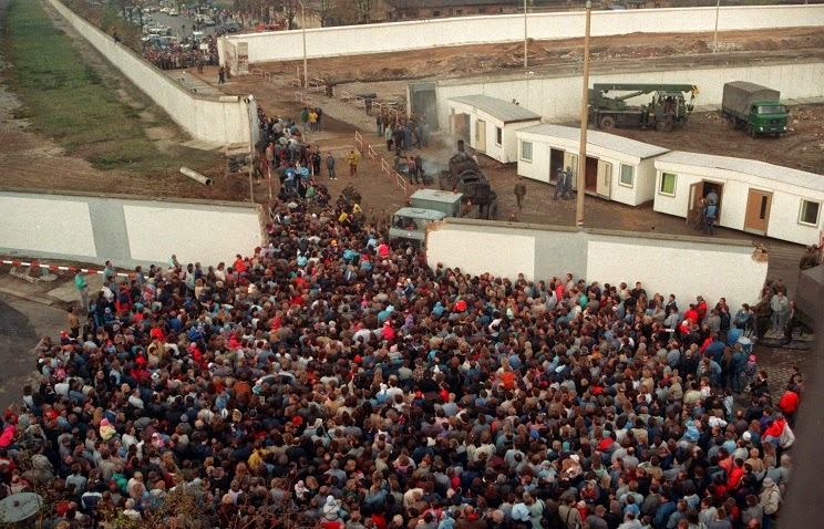 Прорыв Берлинской стены