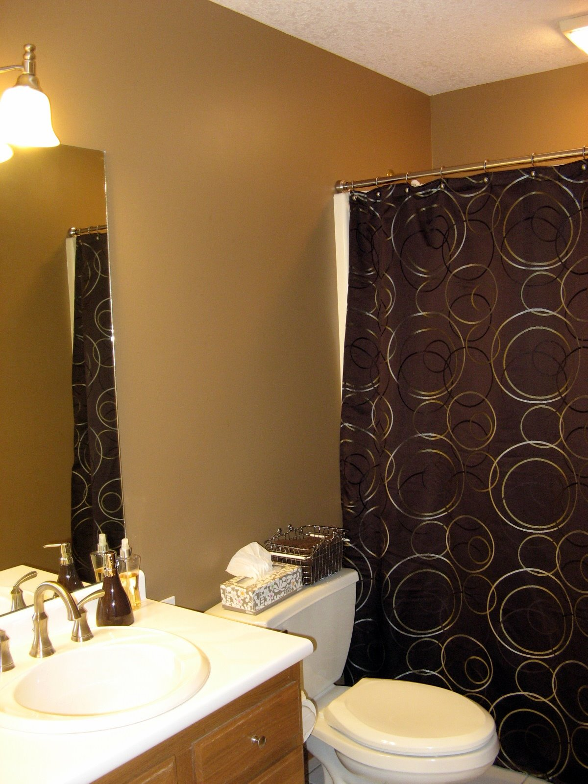 Warm Caramel Wall Paint Color