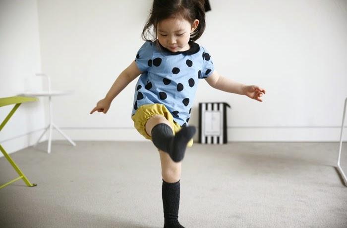 Mini Dressing Drop blouse - Jujubunnyshop spring 2014 kids fashion collection