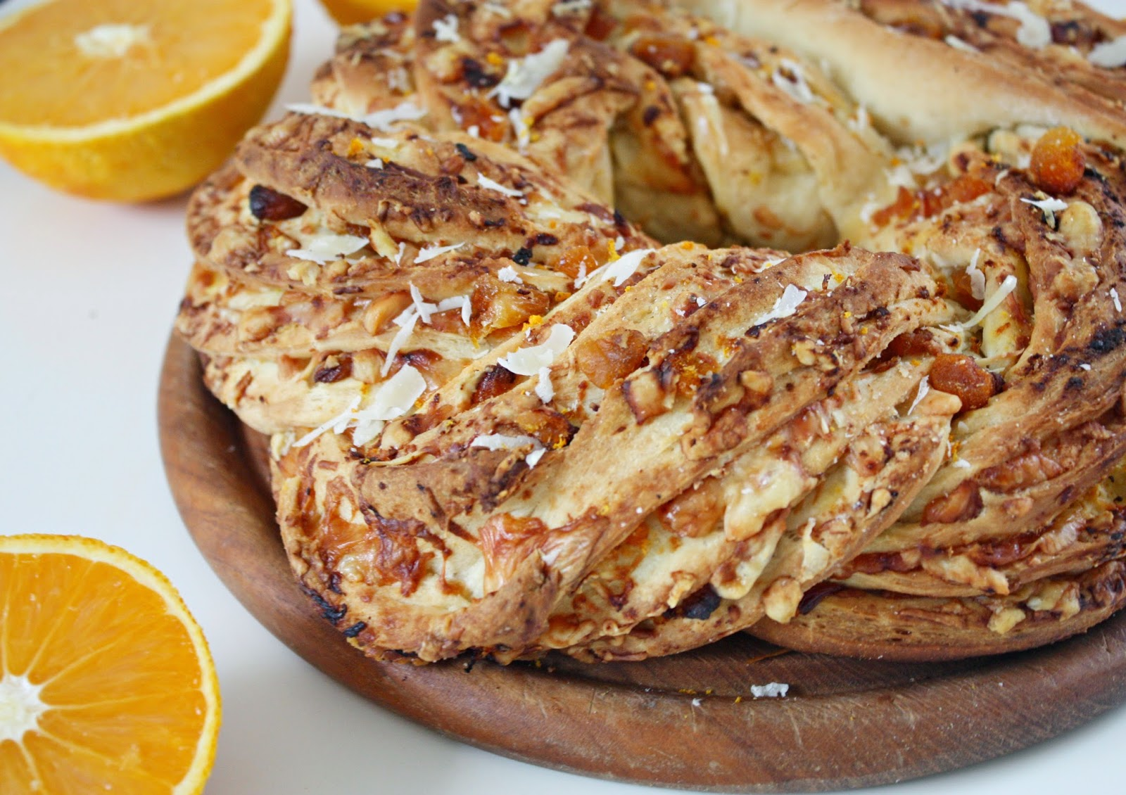 Apricot & Orange Bread with Parmesan