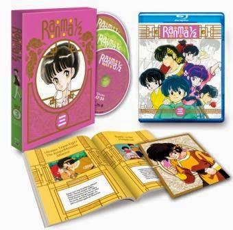 Ranma ½ Anime Series Vol 3 Limited Edition Blu Ray Box