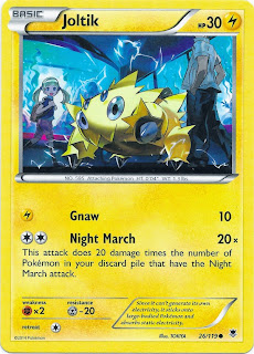 Joltik Phantom Forces Pokemon Card