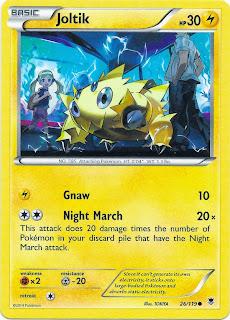 Joltik Phantom Forces Pokemon Card