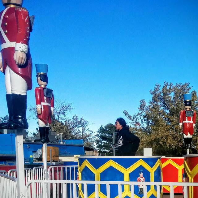 Halloween prank, parenting blog, thankful, teen job, amusement park