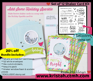 Shaker Cards.....workshop kit ONLY in October 2018!!