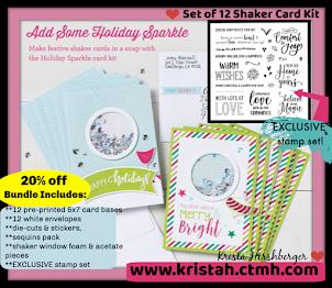 Shaker Cards.....workshop kit ONLY in October 2018!!