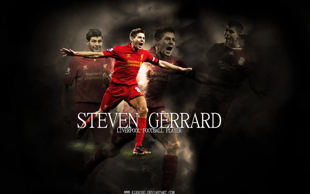 PES 2013 Steven Gerrard Startscreen pack by madn11
