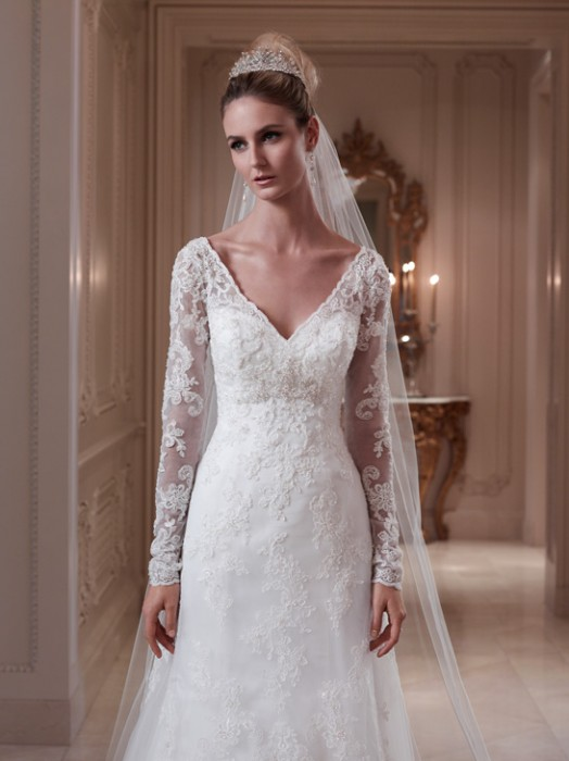 Sophisticate Bride Lace Wedding Dress Gown