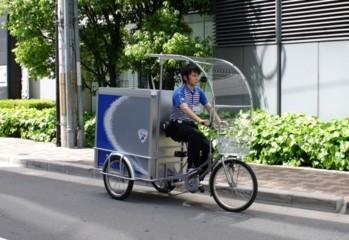 配達用「電動アシスト」三輪車 (Yamaha)