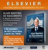 Elsevier lança livro sobre Alair Martins do Nascimento