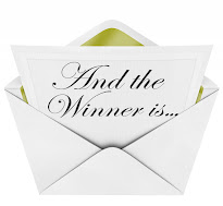 The Winner of my April 2015 Blog Giveaway has been announced!!
