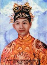 Vua Minh Mạng, Đức Thánh Tổ Nhân Hoàng Đế (1820 - 1840) Huý: Nguyễn Phúc Đàm