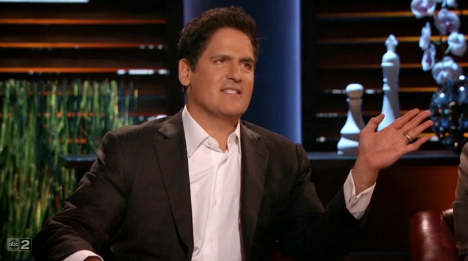 mark cuban shark tank evaluation bossy